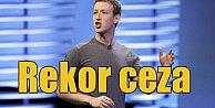 Facebook#039;a rekor ceza: 2 milyar dolar isteniyor