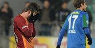 Galatasarayda aşı tutmadı
