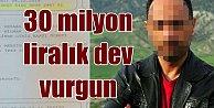 Mersin#039;de büyük vurgun: 30 milyon lirayı zimmetine geçirmiş