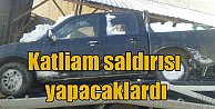 PKK çalıntı kamyonetle katliam yapacaktı: Kar altında bulundu