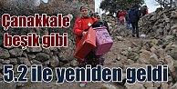 Son Depremler; Çanakkale'de 5.2 ile yeniden sallandı
