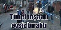Üsküdar#039;da tünel inşaatı halkı sokaklara döktü