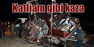 Kahramanmaraş#039;ta trafik faciası, 5 ölü var