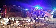 Manisa#039;da katliam gibi kaza; 2 ölü 10 yaralı var