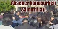 Meral Akşener konuşurken saldırdılar; Kocaeli#039;nde gerginlik