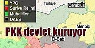 PKK, Münbiç#39;te devlet kuruyor; Ankara, Rusya - ABD sessiz