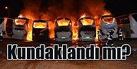 7 otobüs yandı; Bursa'da kundaklama şüphesi