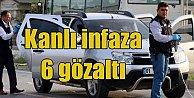 Adana#039;da otomobilde infaz: Kan davası için öldürmüşler