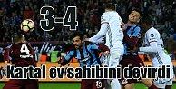 Beşiktaş Trabzon'dan galip dönüyor