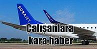 Borajet#039;te 400 kişi işten çıkarıldı: Uçuşlarını durdurdu