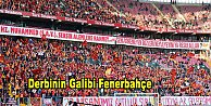 Galatasaray 0- Fenerbahçe 1