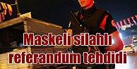 İstanbul'un göbeğinde vatandaşlar silahla tehdit edildi