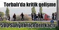 İzmir Torbalı#039;da Suriyeli gerginliği; 500 mülteci ilçeyi terk etti