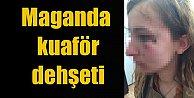 Kuaför, polis memuru kadın müşterisine saldırdı