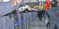 Mersin'de YSK için protesto gerginliği