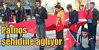 Patnos şehidine ağlıyor: Emrah Çelebi#039;nin mahallesi bayraklarla süslendi