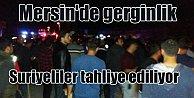 Son Dakika; Mersin'de Suriyeli gerginliği