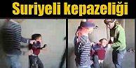 Suriyeli işçiler küçük çocuğa işkence yaparak eğlenmiş