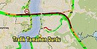 TEM#039;de trafik kilit