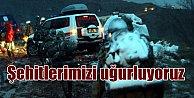 Türkiye şehitlerini uğurluyor; Şehitler Elazığ'da
