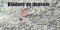Uludere#039;de deprem; Uludere 4.0 ile sallandı