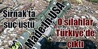 Amerika#039;nın PKK#039;ya verdiği füzeler Türkiye#039;de ilk kez ortaya çıktı