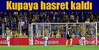 Fenerbahçe'ye bu yıl da kupa yok; 2 yıldır sezonu kupasız kapatıyor