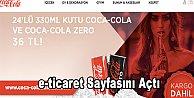 Coca-Cola Online Alışveriş Dükkanı Türkiye'de