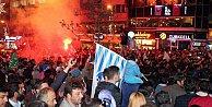 DADAŞLAR ŞAMPİYONLUĞU KUTLUYOR: Erzurum sokaklara döküldü