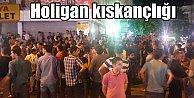 Diyarbakır#039;da, şampiyonluk kutlamasına holigan engeli