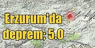 Erzurum'da deprem, Aziziye 5.0 ile sallandı