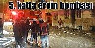 Esenyurt#039;ta patlama: 5. katta uyuşturucu imal etmişler