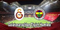 Galatasaray#039;dan Fenerbahçe#039;ye tişört göndermesi