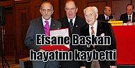 Galatasaray#039;ın efsane başkanı 103 yaşında vefat etti