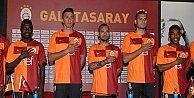 Galatasarayın yeni forması tanıtıldı