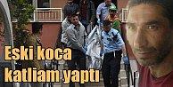 Konya'da eski koca katliamı: Liseli oğluna mesaj atmış