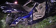 Konya Seydişehir yolunda feci kaza, 2 ölü 3 yaralı var