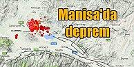 Manisa#039;da deprem, Manisa Saruhanlı 4.3 ile sallandı