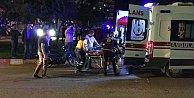 Manisa Turgutlu#039;da kaza, 2#039;si çocuk 5 kişi ölümden döndü