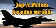 Metina ve Zap havadan vuruldu, 11 terörist öldürüldü