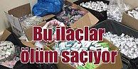 Ölüm saçan ilaçlara operasyon: Bursa#039;da binlerce kutu toplatıldı