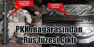 PKK mağaralarından Rus SA-16 füzesi çıktı