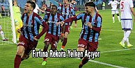 Trabzonspor rekor peşinde