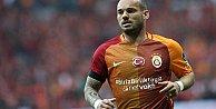 Wesley Sneijder Galatasaraydan ayrılıyor