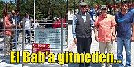 Aksakallı Paşa, El Bab#039;a gitmeden Halisdemir#039;in kabrini ziyaret etti