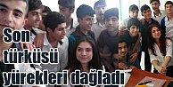 Aybüke öğretmenin söylediği son türkü yürekleri yaktı
