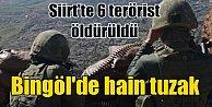 Bingöl#039;de bombalı tuzak patlatı, 2 asker yaralandı