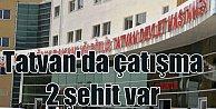 Bitlis#039;ten acı haber, 2 şehit var