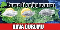 Bugün Hava nasıl olacak: Meteoroloji Batı ve Orta Karadeniz'i uyardı