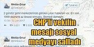 CHP'li vekil depremden iki saat önce bu mesajı atmıştı